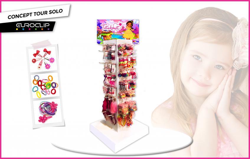 Tour Solo Carton - accessoires coiffure enfants